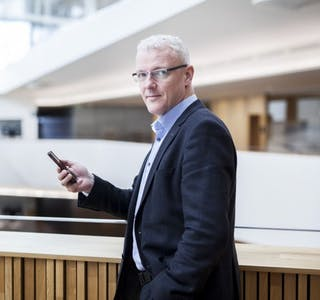 Direktør i Bulder Bank, Torvald Kvamme