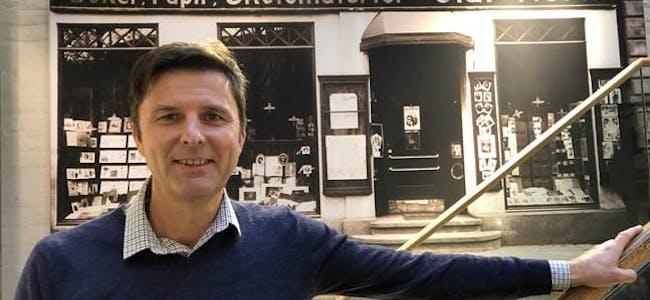 Administrerende direktør i Norli, John Thomasgaard.