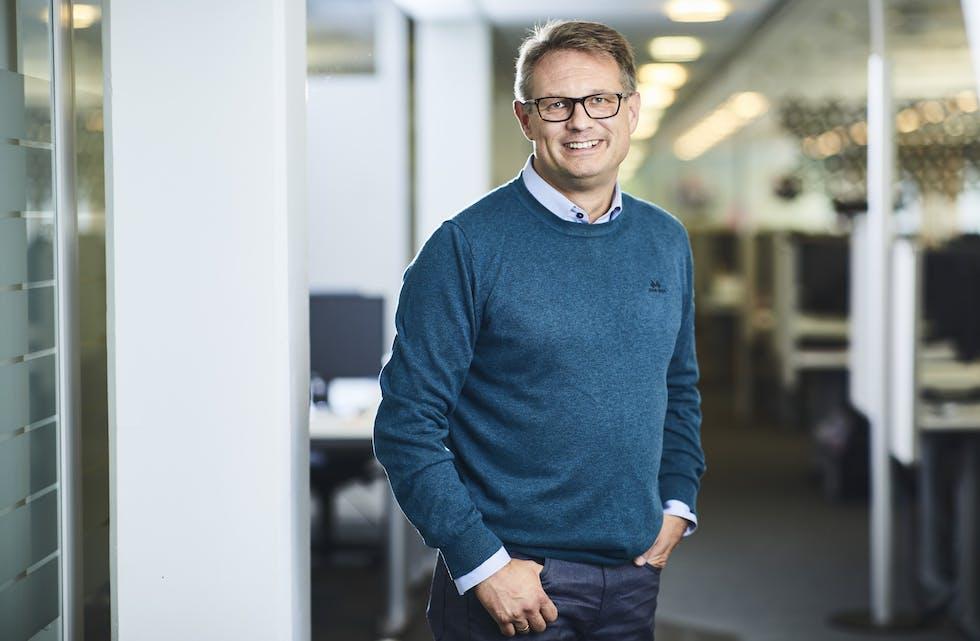 Sigmund Clementz er kommunikasjonssjef i forsikringsselskapet If. (Foto: If).