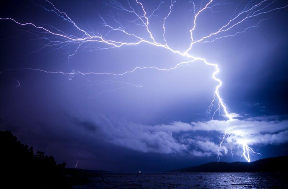 August er måneden lynskader koster nordmenn mest. Foto: iStock.
