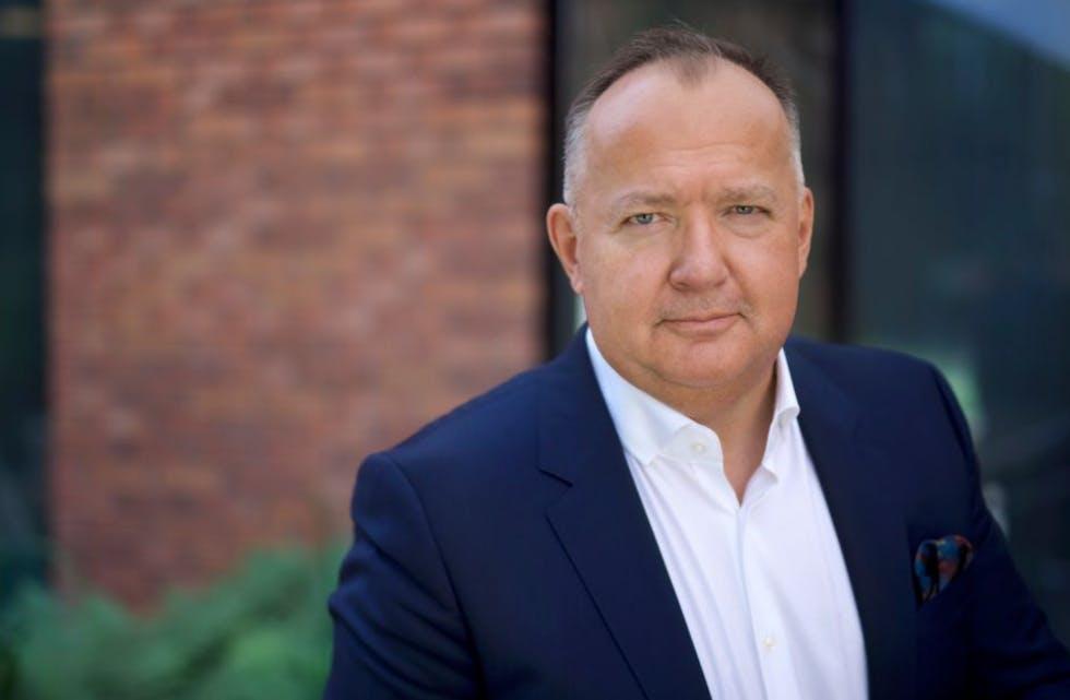 Daglig leder Geir Arne Olsen i IT-selskapet Netcompany.