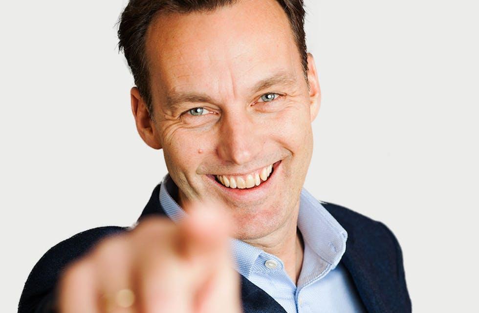Thomas Rødseth er CTO - Chief Technology Officer - i Puzzel.