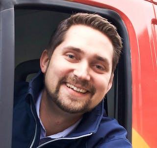 Karl Munthe-Kaas, med-gründer og administrerende direktør i Oda. Foto: Oda.